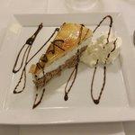 Dessert - The third course of the dinner menu