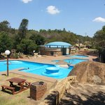 Hot mineral baths