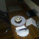 Birthday cake from hatel.