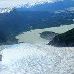 Glacier on the return trip.