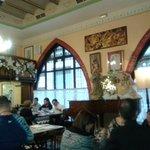 Vista del comedor interior principal.