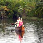 Canoeing in the river, birds and mangroves