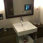 Bathroom, executive suite!