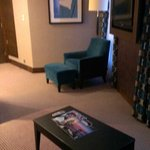 Living area, executive suite!