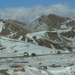 Paisagem montanha neve
