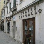 Eingnangbereich des Hotels am Campo San Gallo