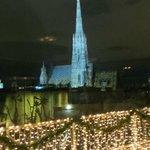 Blick auf den Stephansdom von der Sky-Bar im Steffl