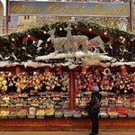 Christkindlmarkt vor dem Rathaus