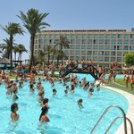 aerobic the hte swimming pool :-)