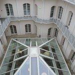Vue de la verrière depuis le balcon