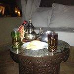 The Maroc auf der Terrasse