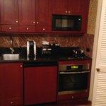 Our mini kitchen!!