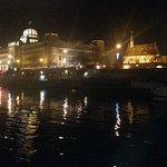 Aussicht vom Jazz Boat am 23.12.2013