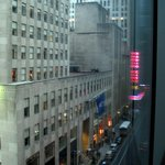 View from our room down 51st St.