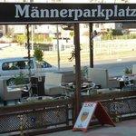 Männerparkplatz - gute Idee