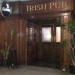 Entrance to the Irish Embassy Pub