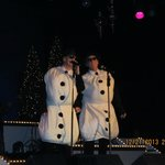 Snowmen Blues Brothers style!