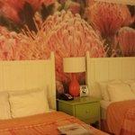 nuestro dormitorio en el hotel