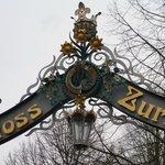 Tor zum Schloss Zurzach. Leider immer noch verschlossen
