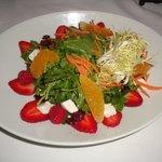 Organic Florida Greens salad