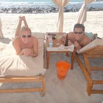 beach side cabana