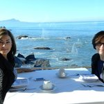 Sisters making memories while in Ensenada - amazing Sunday Brunch too.