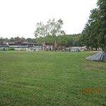 Лужайка для отдыха озера Хевиз