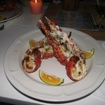 GARLIC LOBSTER DINNER