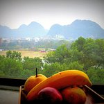 Nice View from the Room w/ Fresh Fruit!