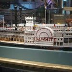 JM White is the name of the dining room on the American Queen Steamboat