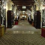 Decorated hallways