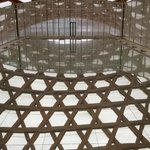Balcon de la galerie 3: Daniel Buren