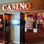 Casino in lobby