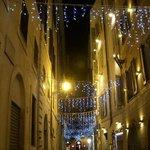 Street level Via Mancino