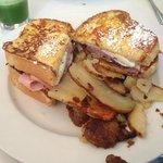 Maggie Cristo sandwich