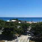 Vista da piscina do hotel, Largo da Mariquita no Rio Vermelho