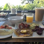 Delicious breakfast included with your stay