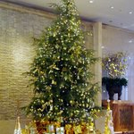 Shangri-La Lobby in December