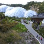The Eden Project, St. Austell, Cornwall, Great Britain