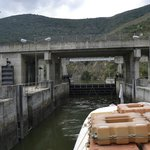 Subida da barragem Pocinho