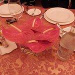 Flowers at Dinner