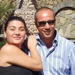 Carmen and an Italian driver