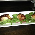 Bacon wrapped scallops!