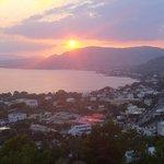 Pefkos Bay Sunset