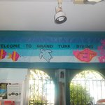 Grand Turk Diving's shop