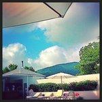 Pool area, Carlisle bay resort, Antigua