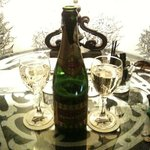 Complimentary Champage from Hotel