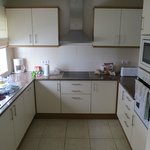 One bedroom town house kitchen.