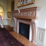 Fireplace in Philbrook