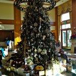 Main Lobby Christmas Tree w/presents